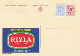 PUBLIBEL 2344 F  RIZLA  CHEWING GUM. Neuf/ Nieuw - Enteros Postales