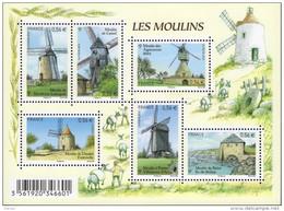 """La Feuille F4485 """"LES MOULINS"""" Luxe Bas Prix, A SAISIR. - Volledige Vellen"""
