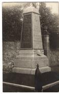60 OISE - COUDUN Carte Photo Du Monument Aux Morts - Autres Communes