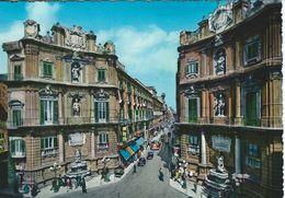 Palermo - Quattro Canti - Via Maqueda   Italy.  # 06426 - Italy