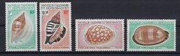 """Nle-Caledonie YT 368 à 371 """" Coquillages """" 1970-71 Neuf** - New Caledonia"""