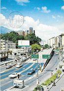 VENEZUELA CARACAS PUENTE ELEVADO CHACAITO VG. 1990 - Venezuela