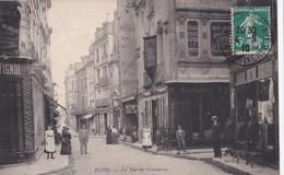 Carte 1910 BLOIS / LA RUE DU COMMERCE (nombreux Magasins ,ébénisterie,tapisserie) - Blois