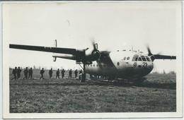 Carte-Photo Ou CPSM ? (Voir Scan)-Noratlas-Avion De Transport Militaire (Basé Après Recherche Sur Le Forum à Toulouse ?) - 1946-....: Moderne