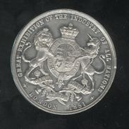 Médaille Grande Bretagne - Great Exhibition Of The Industry Of All Nations - 1851 - HRH Prince Albert - Professionals/Firms