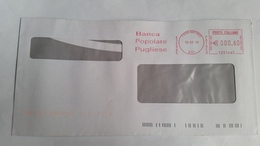 801 - BANCA POPOLARE PUGLIESE 18/1/10 - Affrancature Meccaniche Rosse (EMA)