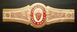 U81 Bague Bagues Cigare Cigares  Gran Marca  1 Pièce(s) - Cigar Bands