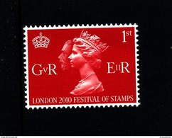 GREAT BRITAIN - 2010  1st  CLASS  RED KGV & QEII   MINT NH - 1952-.... (Elizabeth II)