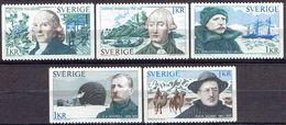 SWEDEN # FROM 1973 STAMPWORLD  812-816** - Sweden