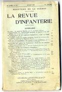 LA REVUE D INFANTERIE   MINISTERE DE LA GUERRE JUILLET 1937   PAGES 240 - War 1914-18