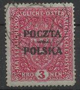 Pologne Poland  Timbre Oblitéré  YT 91 Polen Polska - Usados