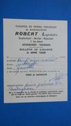 Document Sur La Vente De Pierres Précieuse De Madagascar Aigue-Marinne  Rectangulaire  Mr. Robert Tailleur De Pierres - Factures & Documents Commerciaux