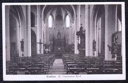 EMBLEM ( Ranst ) - St GUMMARUS KERK INTERIEUR - Niet Courant ! - Ranst