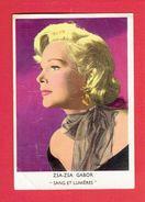 ZSA ZSA GABOR DANS LE FILM SANG ET LUMIERES EN 1954 PHOTO OFFERTE PAR LES BISCOTTES EXONA PAIN DESODEX A CORBEIL - Fotos