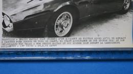 """"""" Photo  A.F.P """" - Deauville - Enrico Macias  Accident De Voiture Du 29 Août 1971  TBE - Singers"""