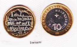 10 Schweizer Franken  2015 - Schweiz