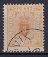 ISLANDIA 1876/01 SERVICIOS - 3 USADO - Islandia