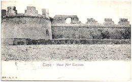 TUNIS - Vieux Fort Tunisien   (Recto/Verso) - Tunesien