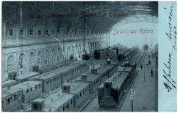 ROMA - Interno Della Stazione Di Termini   (Recto/Verso) - Stazione Termini
