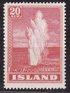 ICELAND 1938  Mi 194  MLH - 1918-1944 Autonomous Administration