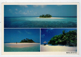 MALDIVES      GLI  ATOLLI           2 SCAN       (VIAGGIATA) - Maldive