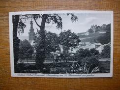 """Allemagne , Radium - Solbad Kreuznach , Kauzenburg Von St. Marienwörth Aus Gesehen """" Carte Animée Soldat !? En 1919 """" - Bad Kreuznach"""