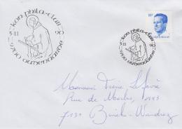 Enveloppe (1990-11-03, 9700 Oudenaarde) - Saint-Bernard - PL - Poststempels/ Marcofilie