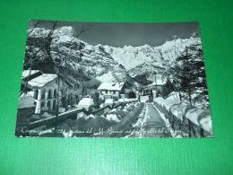 Cartolina Courmayeur - Catena Del Monte Bianco Vista Dalle Ville Fel Pussey 1966 - Italy