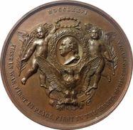 MEDALLA DE LA EXPOSICION UNIVERSAL DE PHILADELPHIA. USA. 1.876. COBRE. USA MEDAL - Profesionales/De Sociedad