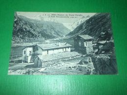 Cartolina Pont Valsavarenche - Hotel Pension Du Grand Paradis 1930 Ca - Italie