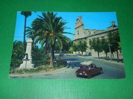 Cartolina Trani - Piazza Plebiscito E Monumento Ad Imbriani 1976 - Bari