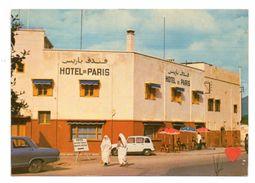 38741-ZE-MAROC-BENI-MELLAL-Hôtel De Paris-----------animée-voitures----------EN L'ETAT - Marokko