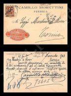 Perugia - Camillo Morettini - Caffè Tostato 6.11.1903 - Pubblicitari