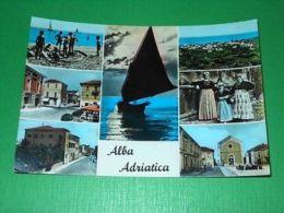 Cartolina Alba Adriatica ( Teramo ) - Vedute Diverse 1959 - Teramo