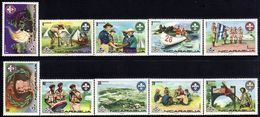 Nicaragua Nordjamb 75 Boy Scout Jamboree Sc 989-994,C880-C883 MNH 1975 - Neufs