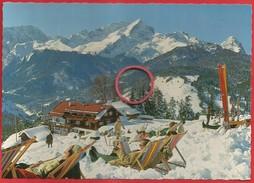 Am Eckbauer, Gegen Hochwanner, Hochblasen, Alpspitze, Zugspitze, Waxenstein - Garmisch-Partenkirchen