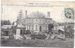 GUINES - 62 - Chateau De La Bien Assise  - ORL - - Guines