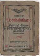 Artaria Eisenbahnkarte Von Österreich - Ungarn 1918 - Catalogues