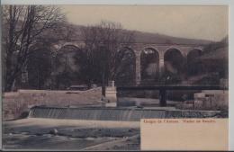 Gorges De L'Areuse - Le Viaduc Pres Boudry - Photo: Timothee Jacot No. 3000 - NE Neuchâtel