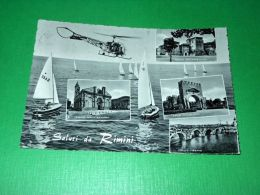 Cartolina Saluti Da Rimini - Vedute Diverse 1960 - Rimini