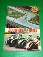Cartolina Sport Motociclismo - 200 Miglia Di Imola - Autodromo Dino Ferrari 1977 - Otros