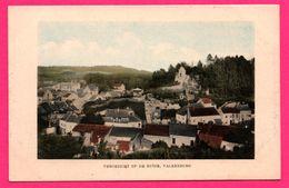 Valkenburg - Vergezicht Op De Ruïne - Valkenburg - J. FEVRIER - 1914 - Colorisée - Valkenburg