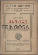 Mirko Breyer: Katalog X Slavica 1907 - Catalogues