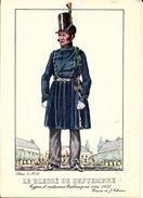 Types Et Costumes Brabançons Vers 1835, Dessins De James Thiriar : Le Blessé De Septembre. CPSM. - België