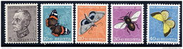 SWITZERLAND 1950 Pro Juventute Set  LHM / *.  Michel 650-54 - Pro Juventute