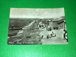Cartolina Oristano - Spiaggia Di Torregrande 1957 - Oristano