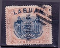 Malaysia - Labuan 1897, Freimarken Mi.Nr. GB-LB 80 (Sn:GB-LB 84a), Gestempelt (Mi. 80 EUR) - Grande-Bretagne (ex-colonies & Protectorats)