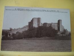B8 9336 - 41 MONTOIRE - VUE D'ENSEMBLE DU CHATEAU (XIIe S.) COTE SUD... - Montoire-sur-le-Loir