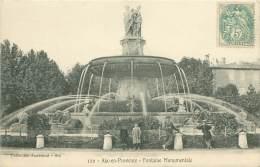 13 - AIX-en-PROVENCE - Fontaine Monumentale. - Aix En Provence
