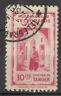 Tanger Huerfanos De Telegrafos U 13 (o) Cartero - Spanish Morocco